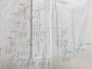 メモ - 手書き家系図